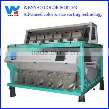 double side view technology optical sea salt size color sorting machine