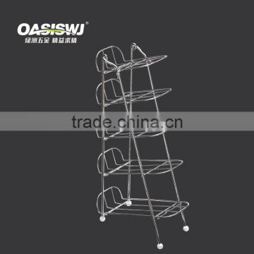 5 tiers detachable bottle rack