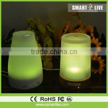 Hot Sale Ultrasonic Air Purifier Led Lamp Cool Mist Aroma Diffuser + Essential Oil Humidifier For Home