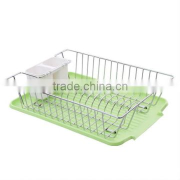 BRAND NEW CHROME DISH DRAINER RACK FOR WATER DRIPPING & PLATES HOLDER 4 DESIGNS
