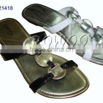 ladies formal flat sandals