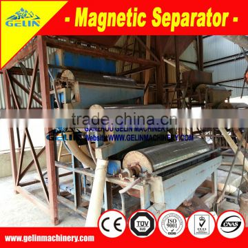 Benefication permanent magnetic separator for zircon ore separation