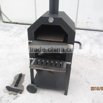 Portable outdoor clay oven for home used