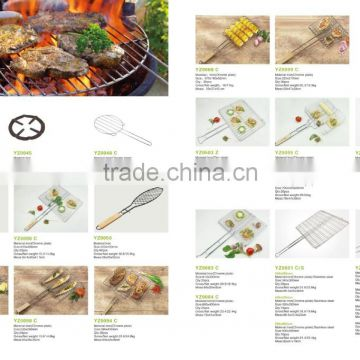BBQ net,BBQ grill,BBQ rack, fish rack-----easy to clean and store up