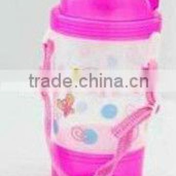 plastic 410ml PP water bottle for kids