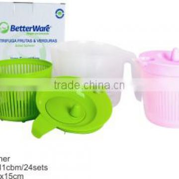 PP Plastic Food Grade Household Product Factory Wholesale Salad Spinner