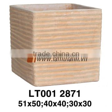 Vietnam Square Streaky Classic Sandy Terracotta For Wholesalers