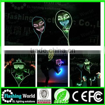 Best service Interesting Vedio music actived 2016 top design light up ties
