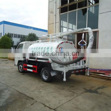 4m3 4x2 right hand drive septic tank truck