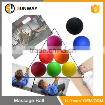 Eco-Friendly Custom Silicone Peanut Massage Ball