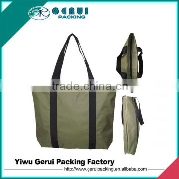 Oxford polyester shopping bag