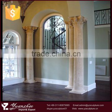 hot sale decorative sandstone columns for home
