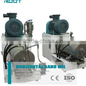 100l horizontal sand mill for pigment grinding