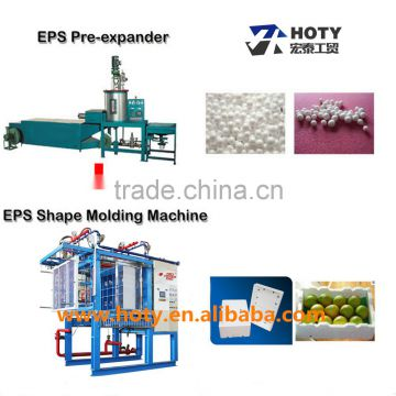eps foam fish box shape molding machine