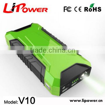 New 2015 car jump starter 12000mAh with ResQMe lifehammer auto power bank with doubel USB                                                                         Quality Choice