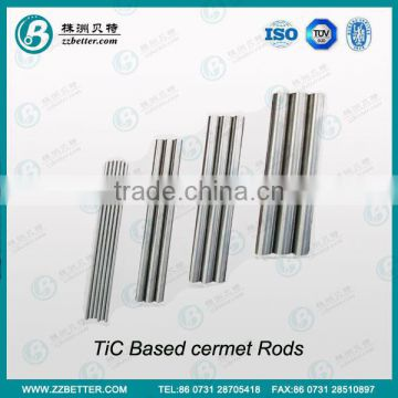 TiCN based cermet rods/Titanium carbide rods for Crushing hammer use