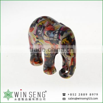 Competitive price lovely cute animal shaped ceramic elephant piggy bank