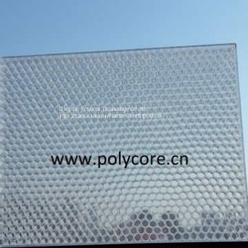 fire-retardant  light weight honeycomb shopping panel