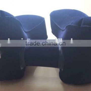 pvc foam 2 chamber spa pillow