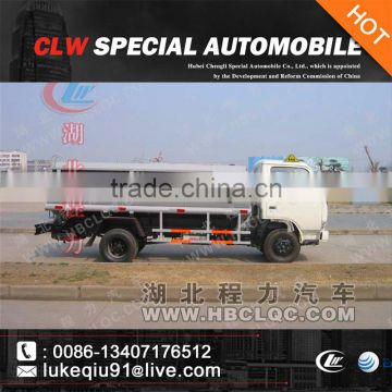cheap 5 cubic meter fuel tank truck for sale