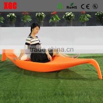 Eco-friendly colorful leisure bed for garden