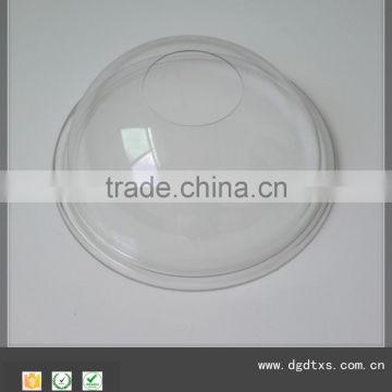 OEM vacuum forming clear polycarbonate lamp shade