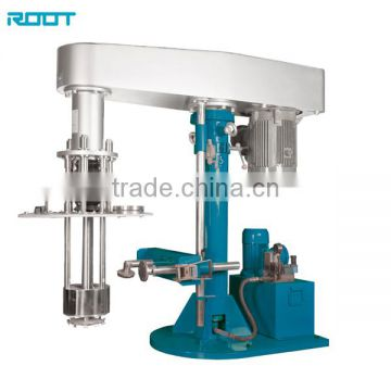 Explostion proof basket mill for adhesive
