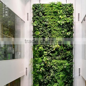 Home and outdoor decoration synthetic cheap artificial vertical green grass wall E08 04Q79