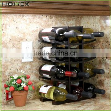 Wholesale 12-Bottle Natural Bamboo Wine Rack/Bamboo Antique Wine Rack /Homex_Factory