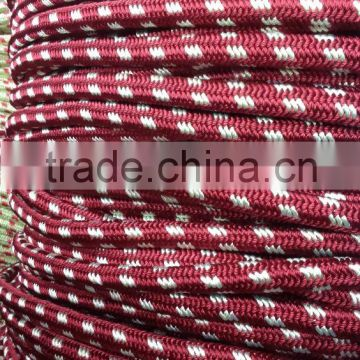 Polyester Galvanized Iron Core Armed Recreation Climbing Rope