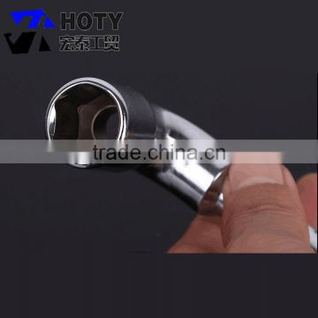 hardware plastic handle l type wheel wrench