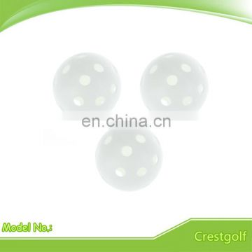 Colors Hollow Ball Custom Plastic Golf Balls with Logo Design
