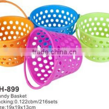 Good Plastic Food Grade Fruit Vegetable cleaing basket handy basket TH-899