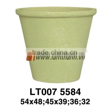 Southern Vietnam Manufacturer Romance Commercial Round Large Green Ceramic