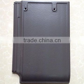 Yixing flat ceramic roof tile, high quality building materials