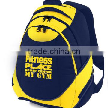 600D high quality strong reusable polyester backpack