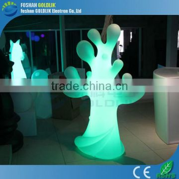 rgb illuminous garden floor lamp / home decorative light with Wireless DMX Control