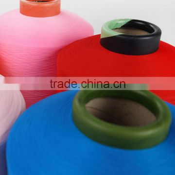 Dope Dyed Color 150D Nylon DTY Yarn PA 6 DTY Yarn 150D/144F For Socks Knitting