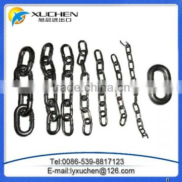 Welded metal Chain with best price used for decorative,guardrail,pontoon,etc.