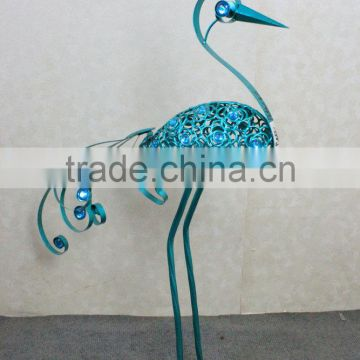 Decorative peacock for garden