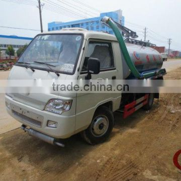 FONTON FORLAND 4*2 Mini fecal suction truck 2000L to 3000L