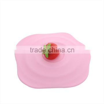 All kinds of cute shape silicone suction cup lid