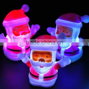 Kids plastic toy night light, Battery Operated LED Night Light Toy, 2015 new product christmas pvc toys