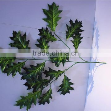 Home and outdoor garden table wedding christmas decoration 60cm or 2ft Height artificial colorfully maple leaf E06 0650