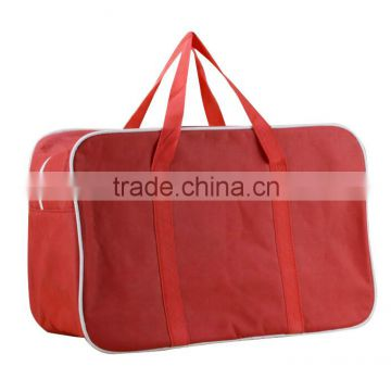 420D polyester heavy duty customized insulated rectangle shape cooler bag