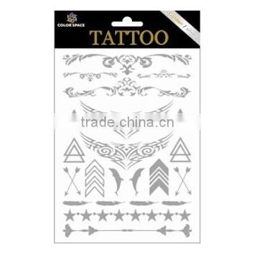 metallic tattoos/gold tattoo sticker