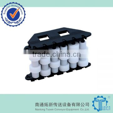 S9 Modular Conveyor Chain Sideflexing Roller Side Guide