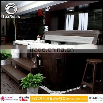 A200 Two Person Outdoor Bathtub Spa with LED Lighting