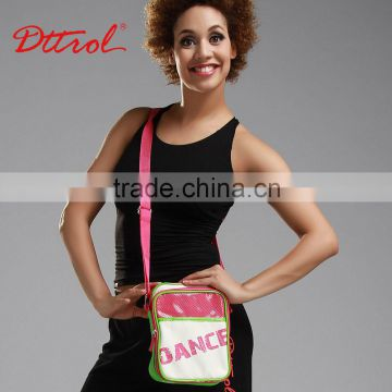 D006190 Cheap girls fasion ballet dance bags duffle shoe shoulder bag