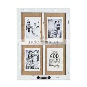 White Rustic Wooden Sexy Funia Photo Frame